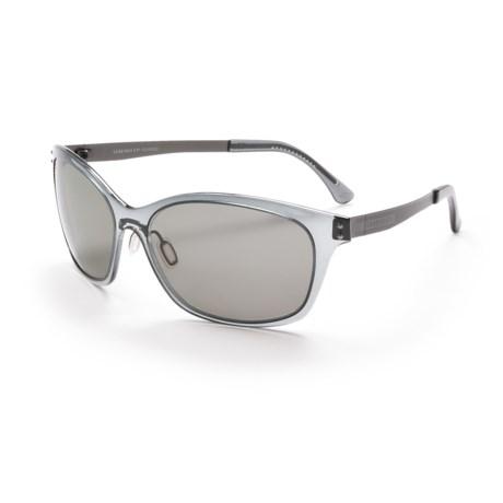 Serengeti Sara Sunglasses - Polarized, Photochromic Polar PhD Lenses (For Women)