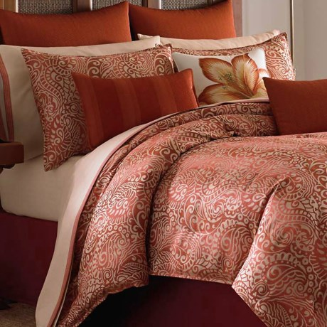Tommy Bahama Prince of Paisley Duvet Set - Queen, 200 TC Sateen