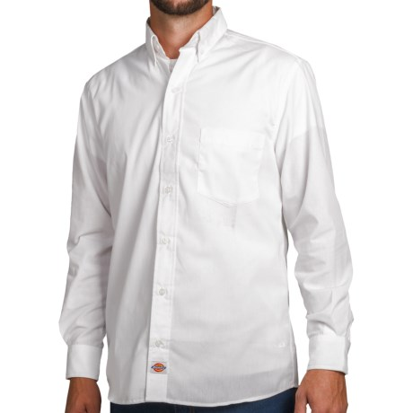 Dickies Premium Industrial Work Shirt - Poplin, Long Sleeve (For Men)
