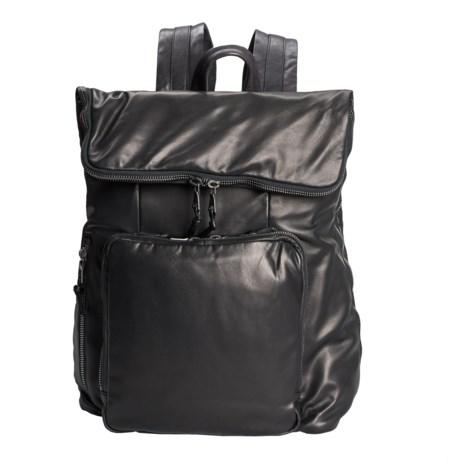 John Varvatos Collection John Varvatos Bleeker Lambskin Backpack