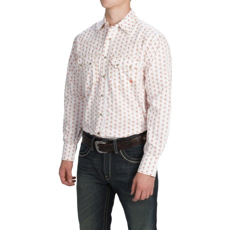 Ariat Leo Retro Fit Western Shirt - Snap Front, Long Sleeve (For Men)