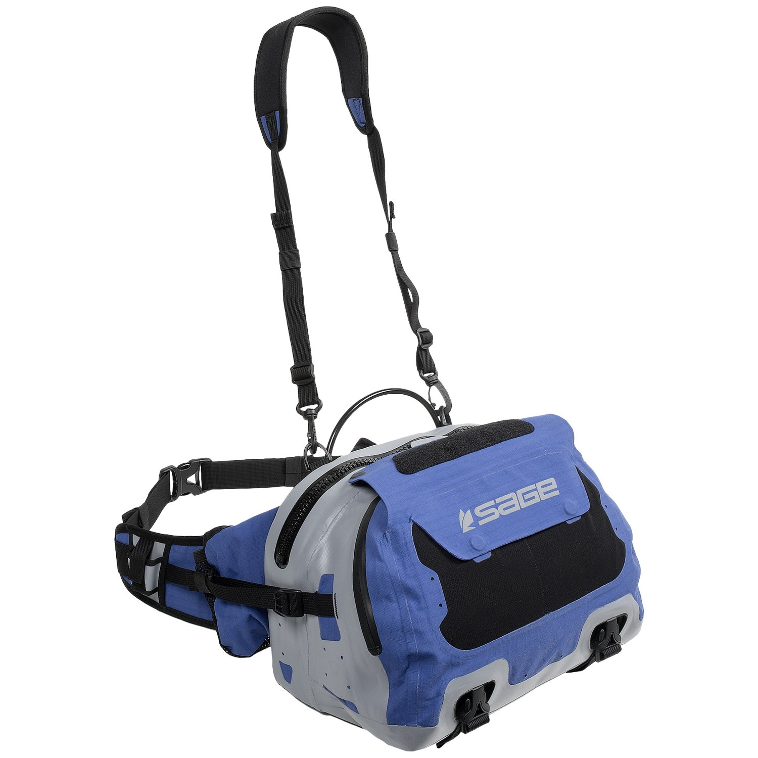 Sage technical field large fishing waist pack 9711w save 32 for Fishing waist pack