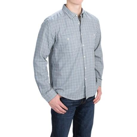 Barbour International Legend Brushed Cotton Shirt - Long Sleeve (For Men)