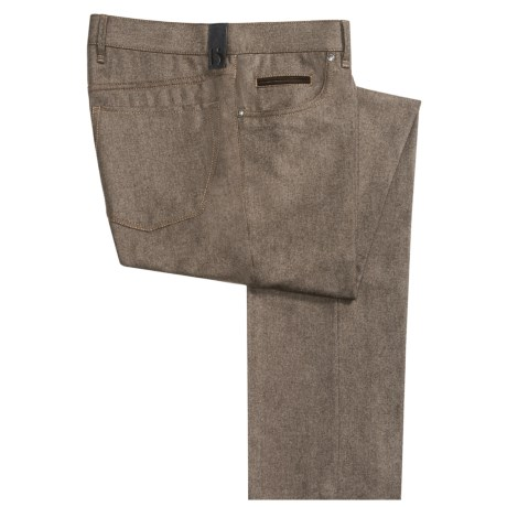 Hiltl Downey Wool Flannel Pants - Contemporary Fit (For Men)