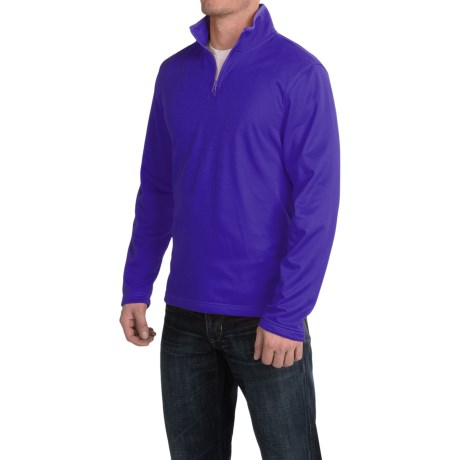 Urban Frontier Tech Pullover Shirt - Zip Neck, Long Sleeve (For Men)