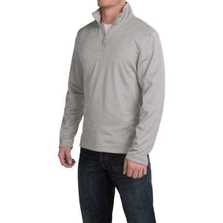 Urban Frontier Tech Pullover Shirt - Zip Neck, Long Sleeve (For Men)