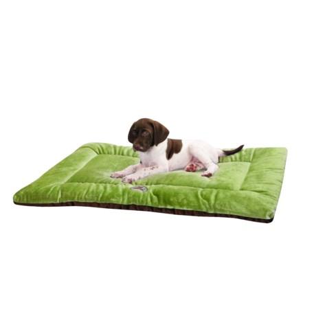 "OllyDog Plush Dog Bed - 24x17"", Small"
