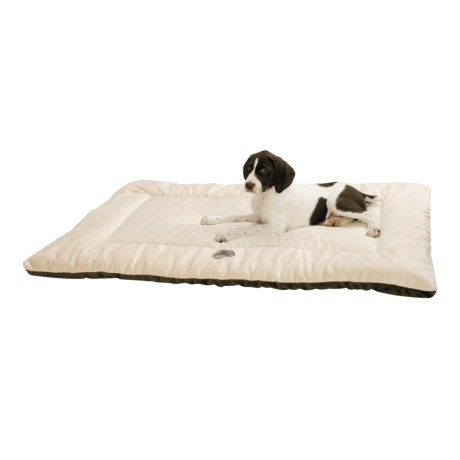 "OllyDog Plush Dog Bed - 22x36"", Large"