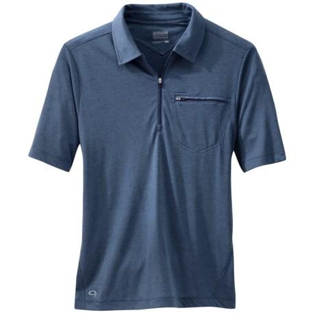 Outdoor Research Sequence Polo Shirt - Zip Neck, Short Sleeve (For Men)
