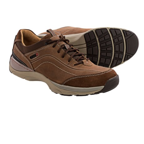 Clarks Skyward Vibe Leather Sneakers (For Men)