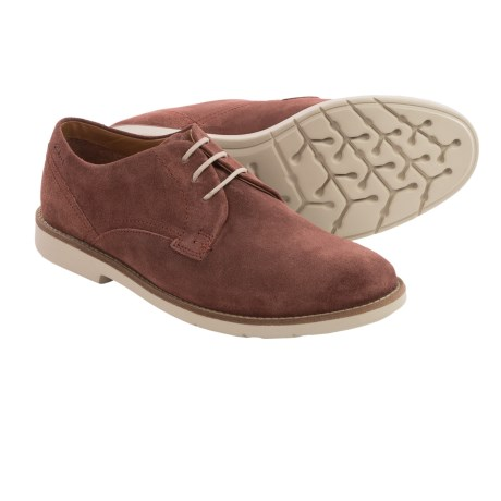 Clarks Raspin Plan Suede Shoes (For Men)