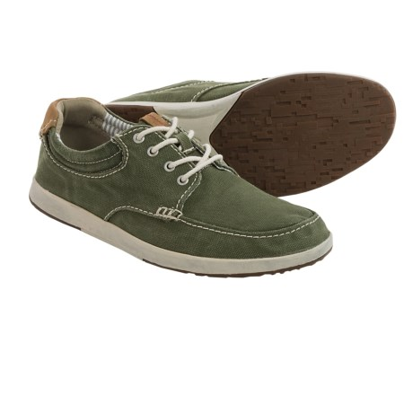Clarks Norwin Vibe Canvas Shoes (For Men)