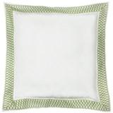 DownTown Designer Pillow Sham - Euro, 400 TC Cotton Percale