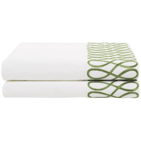 DownTown Designer Pillowcases - Standard, 400 TC Cotton Percale