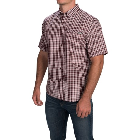 Woven Shirt - Short Sleeve (For Men)