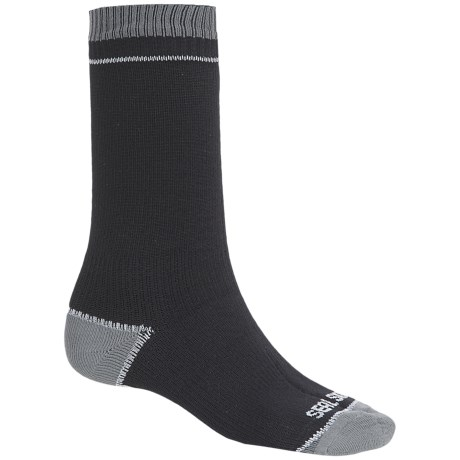 SealSkinz Albatross Thin Socks - Waterproof, Mid Calf (For Men and Women)