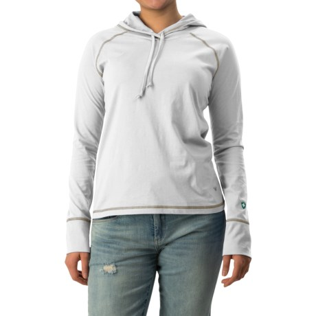 White Sierra Insect Shield® Bug Free Hoodie - UPF 30+ (For Women)
