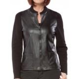 DAMASK Damask Rib-Knit and Woven Cotton Jacket (For Women)