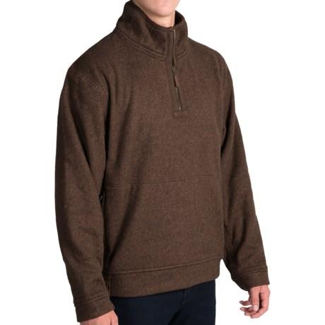 J. Peterman Andor Fleece Pullover Jacket - Zip Neck (For Men)