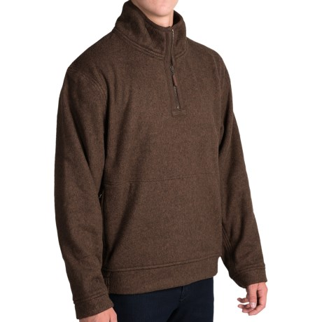 J. Peterman Andor Fleece Pullover Jacket - Zip Neck (For Men)