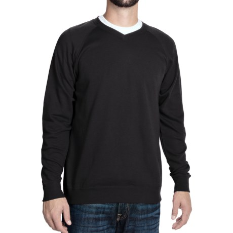 J. Peterman Being Comfortable Sweatshirt - V-Neck (For Men)