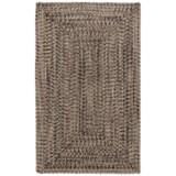 "Colonial Mills Braided Indoor/Outdoor Accent Rug - 27x46"", Rustic Tweed"