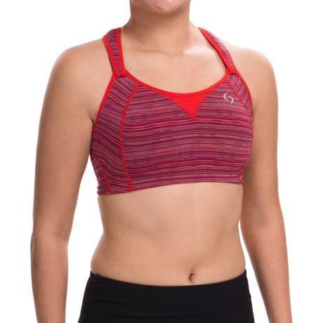 Moving Comfort Rebound Racer Sports Bra - High Impact, Racerback (For Women)