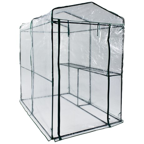 Arcadia Garden Products One-Sided Walk-In Greenhouse Cover