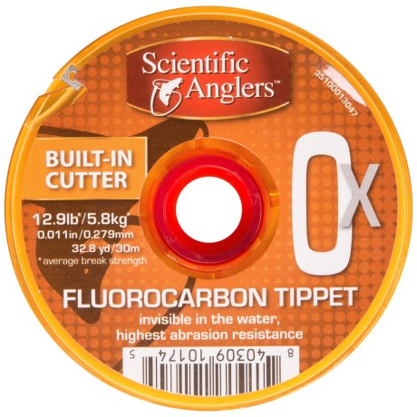 Scientific Anglers Premium Fluorocarbon Tippet - Freshwater/Saltwater, 32.8 yds..