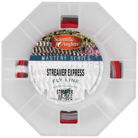 Scientific Anglers Mastery Streamer Express Taper Fly Line - Sinking Tip, Freshwater/Saltwater, 100'