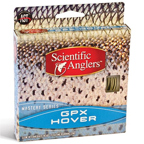 Scientific Anglers Mastery GPX Hover Intermediate Taper Fly Line - Floating, 105'