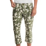 Toad&Co Petrograph Capris - Organic Cotton (For Women)