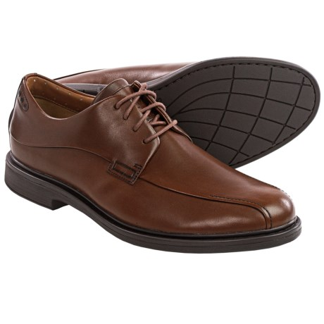 Clarks Drexlar Way Leather Shoes - Oxfords (For Men)