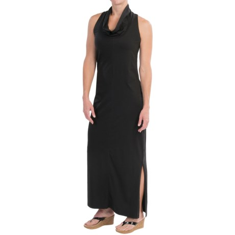 Toad&Co GoLightly Maxi Dress - Built-in Shelf Bra, Sleeveless (For Women)
