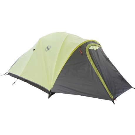 Big Agnes Seedhouse 3 Cross Pole Tent with MtnGLO Light Kit - 3-Person, 3-Season