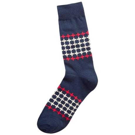 Richer Poorer Trespasser Socks - Crew (For Men)
