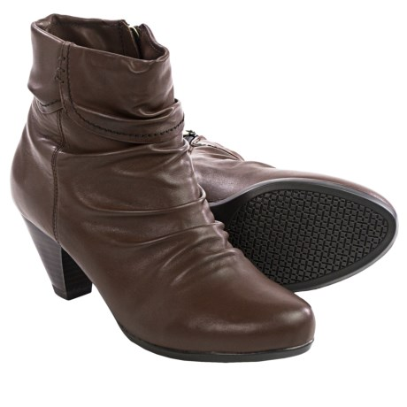 Blondo Diva Leather Ankle Boots (For Women)
