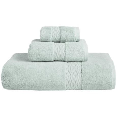 The Turkish Towel Company Turkish Cotton Silky Twist Bath Towel