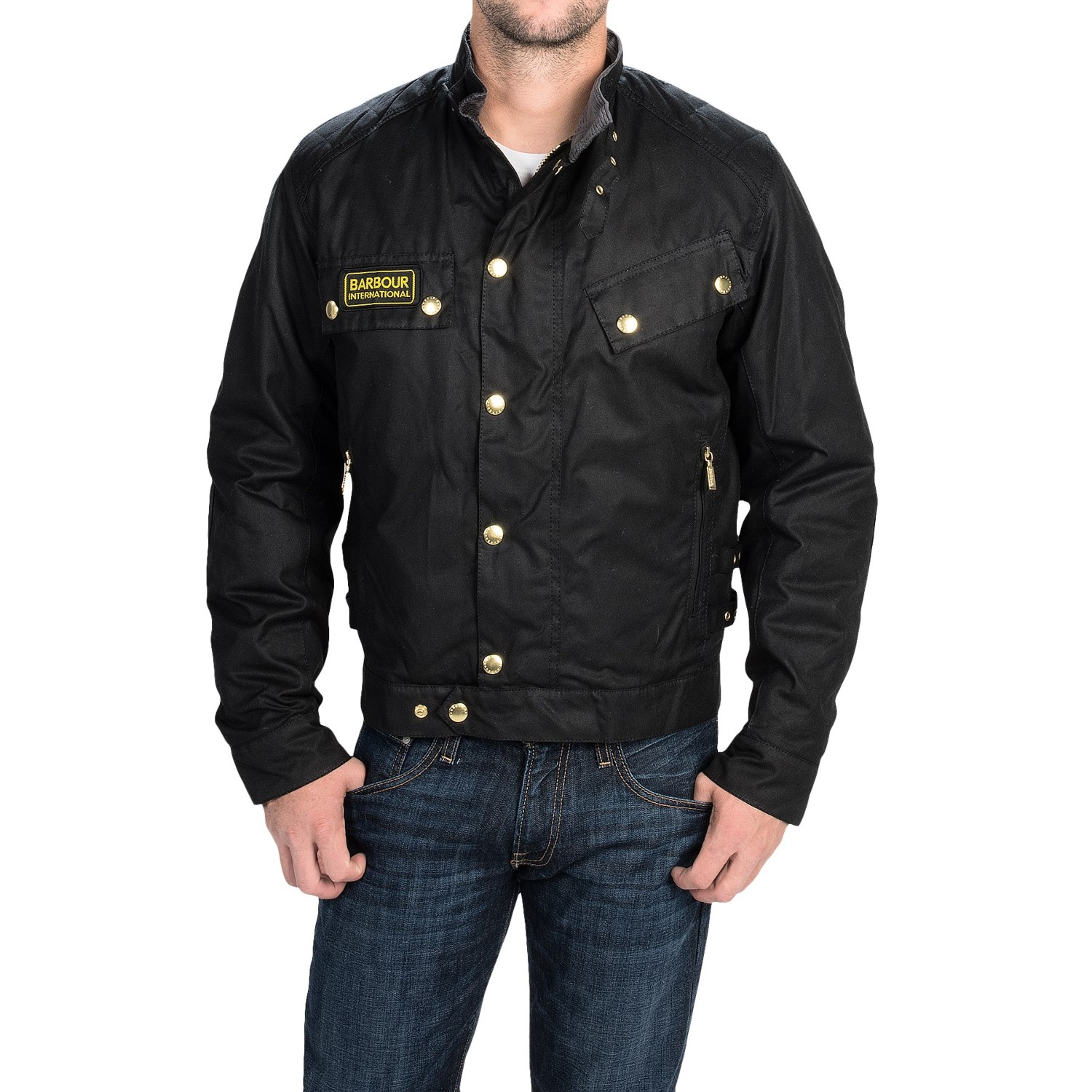 Barbour Quilted Motorcycle Jacket