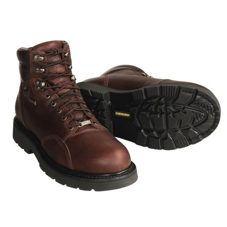 Carolina Shoe Gold II Steel-Toed Work Boots - Waterproof, Thinsulate® (For Men)