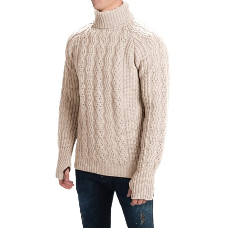 Barbour Sub-Deck Turtleneck Sweater - Wool (For Men)