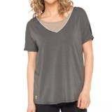 Lole Ardha Reversible Convertible Shirt - Short Sleeve (For Women)