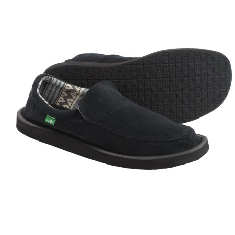 Sanuk Chiba Stitched Shoes - Canvas, Slip-Ons (For Men)