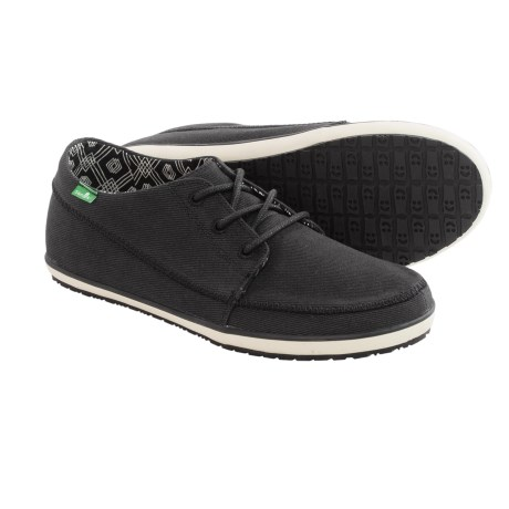 Sanuk Cassius Shoes - Waxed Twill (For Men)
