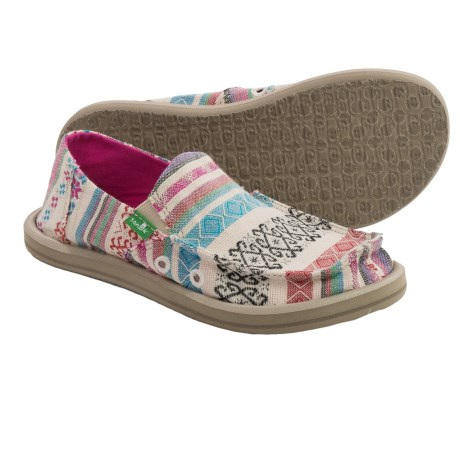 Sanuk Donna Slip-On Shoes (For Little and Big Girls)