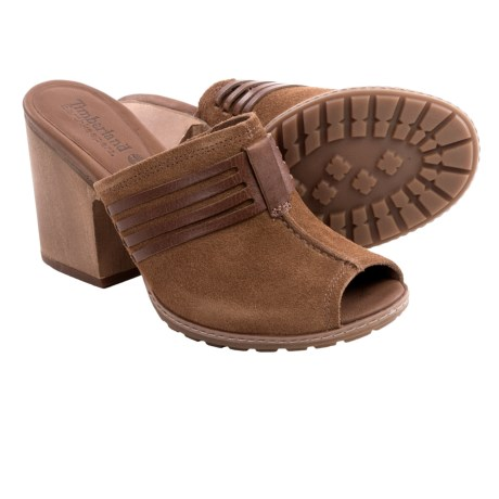 Timberland Strafford Sandals - Suede (For Women)