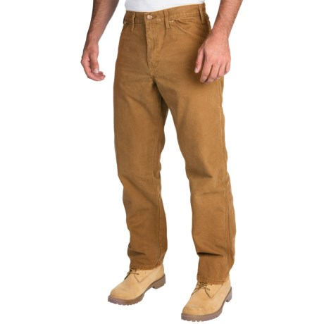 Dickies Sanded Carpenter Pants - Cotton Duck, Relaxed Fit (For Men)