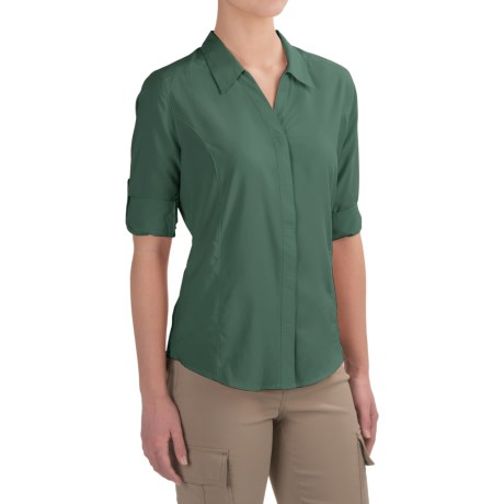 Royal Robbins Expedition Shirt - UPF 40+, 3/4 Sleeve (For Women)