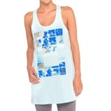 Lole Axelle Organic Cotton Tunic Shirt - Racerback, Sleeveless (For Women)