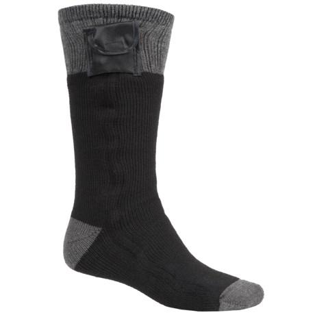 Terramar Heavyweight Battery-Heated Socks - Mid Calf (For Men)